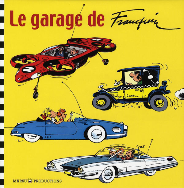 Le garage de franquin for Garage rachete voiture