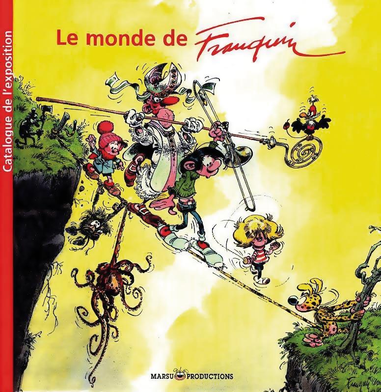 Le Monde de Franquin - catalogue de l'exposition