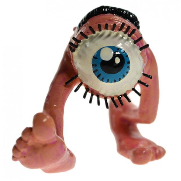 Les monstres de Franquin - L'oeil qui suit