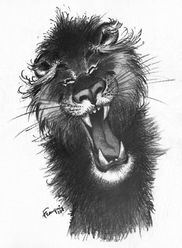 Bestiaire - Le Lion