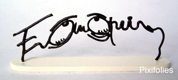 Signature Yeux tristes