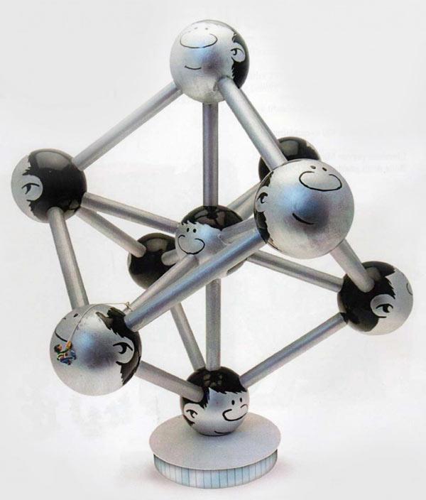 Gaston Lagaffe - Atomium : je n'aurais pas du accepter ce boulot