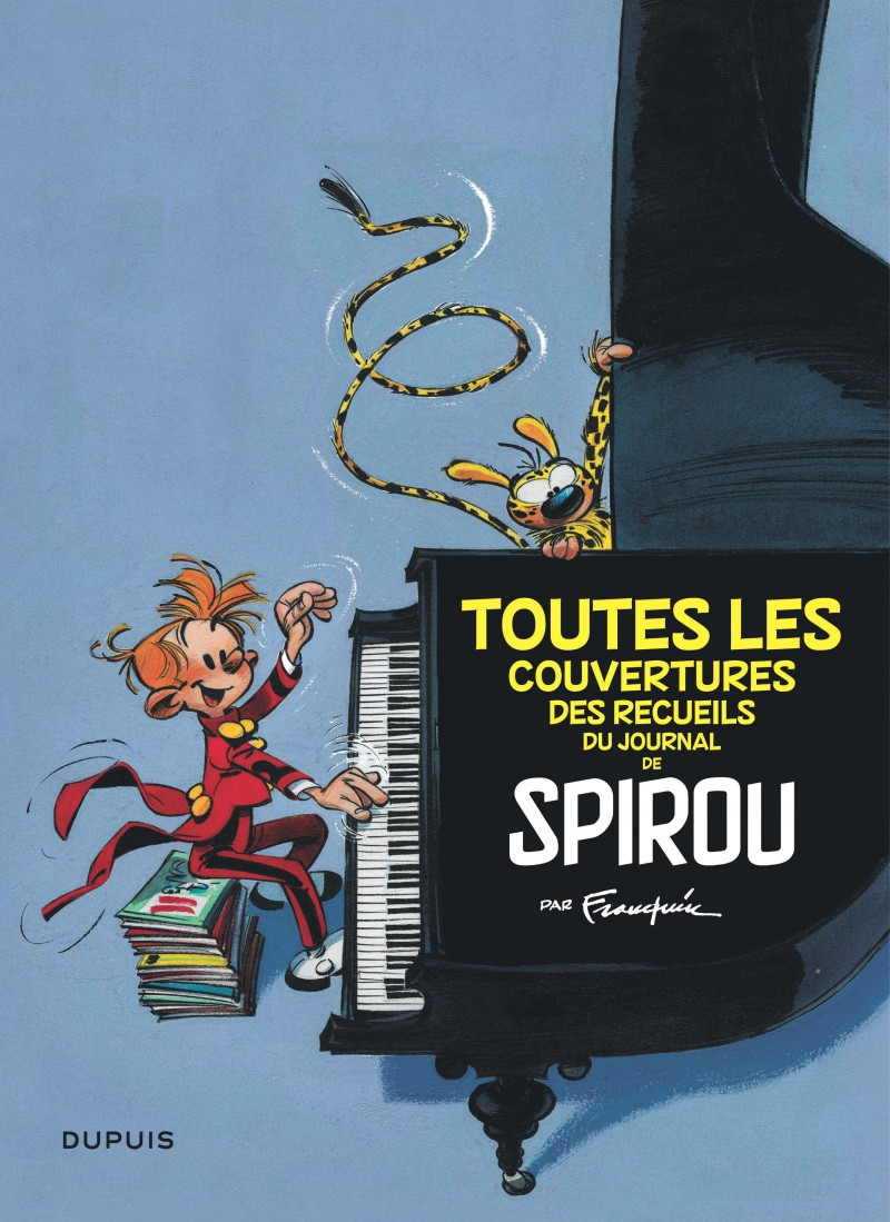 COUVERTURES JOURNAL DE SPIROU PAR FRANQUIN