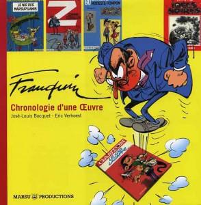 Franquin, Chronologie d'une oeuvre