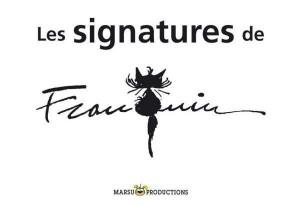 Les signatures de Franquin
