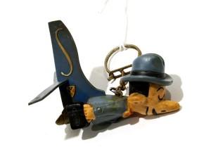 Porte-clefs Sabena créé par Franquin (1950-60)
