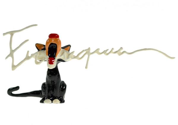 Signature Chat qui miaule