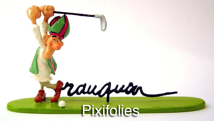 Mitre-railleuse - golfeur