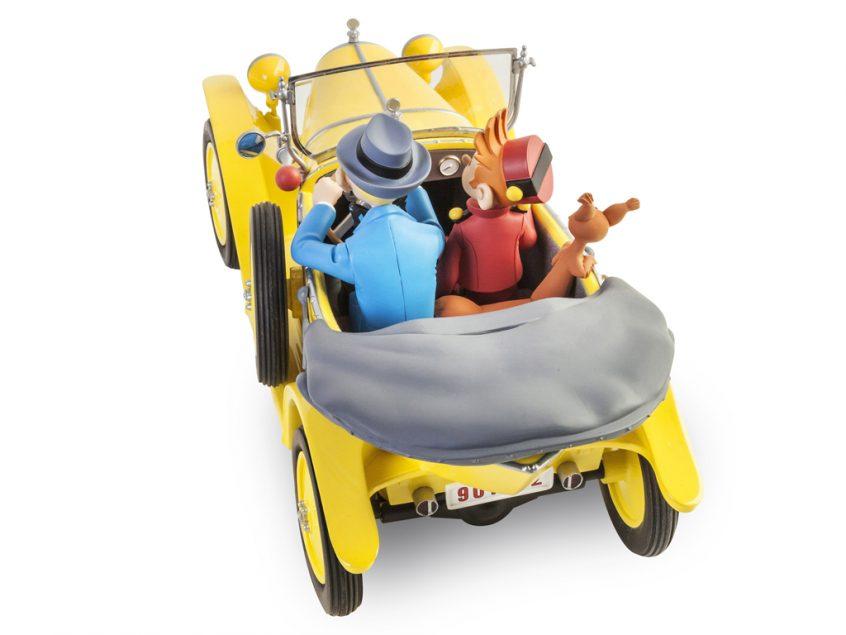 Spirou & Fantasio Citroën 5 HP trèfle - Le Garage de Franquin