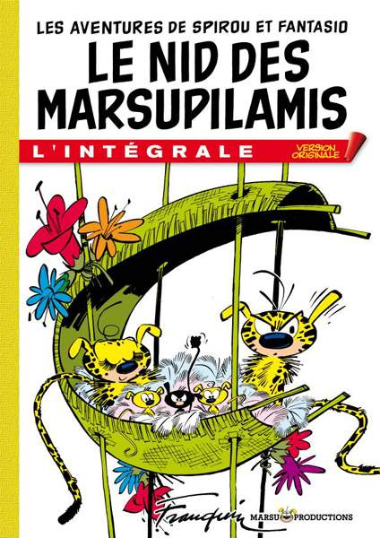 Le Nid des Marsupilamis version originale